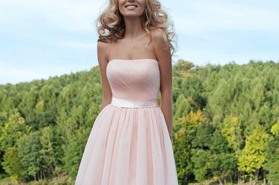 Robes de soirée courtes 2016 : soyez l'invitée la plus stylée du mariage