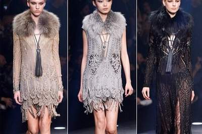Roberto Cavalli Fall/Winter 2014-2015. Foto via Instagram: goinggoss