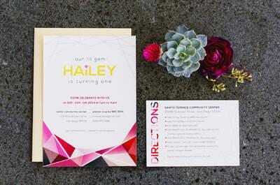 La geometría como parte de la decoración de tu boda: La tendencia perfecta del 2016