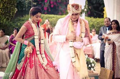 Stunning Real Wedding of Madhuri and Rohan: The one with the romantic proposal