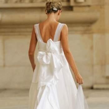 Robe de mariée Flore, vue de dos - Crédit photo: Catherine Varnier