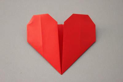 Tuto pour des marque place en forme de coeur