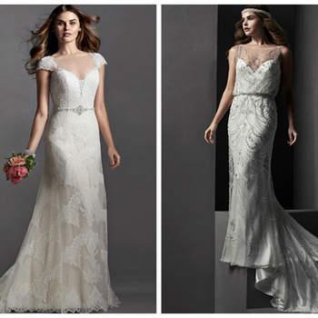 Elegante und verträumte Brautkleider mit dem gewissen Etwas