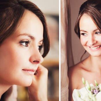 ¿Cortos o largos? Aquí te mostramos algunas opciones en aretes para el día de tu boda. Foto Attitude Fotografía