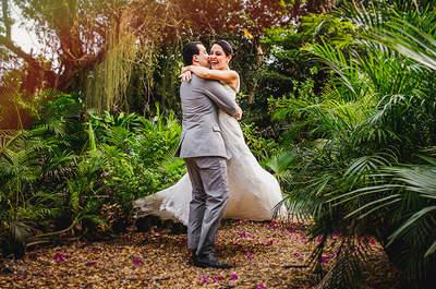 Aline & Lucas: Casamento romântico ao ar livre no interior do Rio de Janeiro