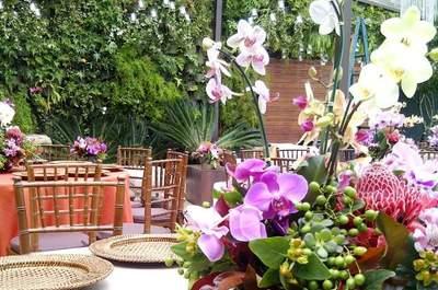 Beleza e cuidado: o arranjo de mesa ideal para o seu casamento