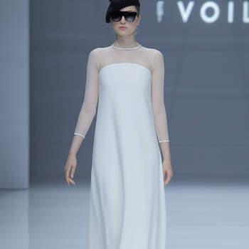 Sophie et Voilá. Credits: Barcelona Bridal Fashion Week