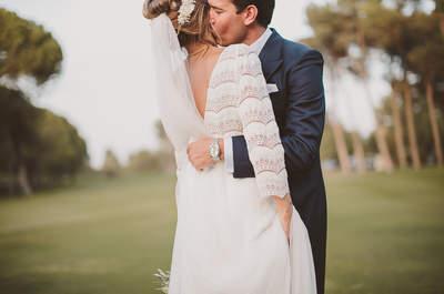 Una boda perfecta y divertidísima: el 'día B' de Irene y Paco