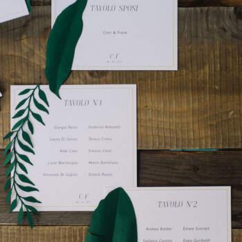 Invitaciones de Hojas- Compra en The Wedding Shop