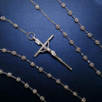 Ondine Lazo de Boda Cuentas con Cristal tipo Swarovski $1,800