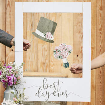 Cuadro Para Photocall Polaroid- Compra en The Wedding Shop
