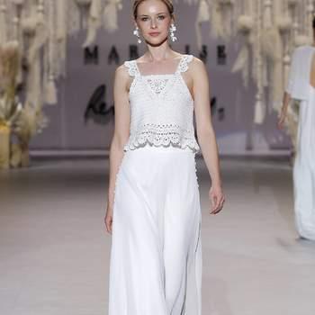 Marylise by Rembo Styling. Credits: Barcelona Bridal Fashion Week
