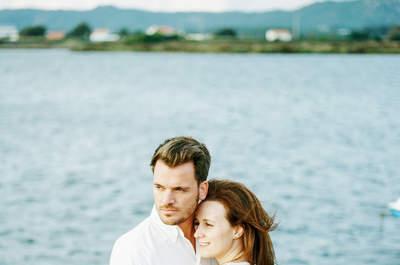 Sessão de fotos pré-casamento da Ana e Vítor: um casal divertido e romântico