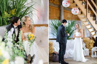 Heiraten im Landhausstil: So haben Nadine und Berni Ihre Traumhochzeit im Basel-Land verwirklicht!