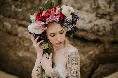 Como combinar maquilhagem de noiva e vestido de noiva na perfeição: três looks diferentes para três noivas maravilhosas!