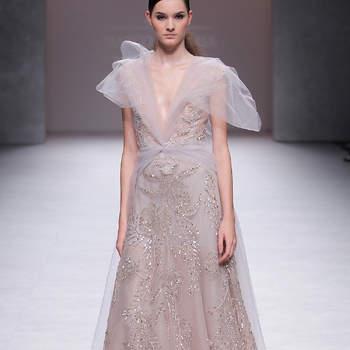 Créditos: Marco & María   Barcelona Bridal Fashion Week