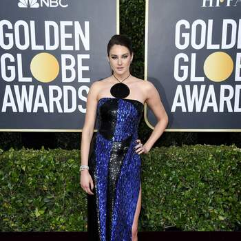 Shailene Woodley veste Balmain. Crédits Cordon Press