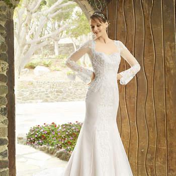 Vestidos de novia escote cuadrado. ¡No te pierdas estos diseños que te fascinarán!