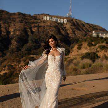 Vestido de noiva modelo MacClaine da coleção Pronovias 2021 Cruise Collection