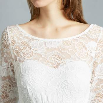 Tabea ivory long detail