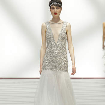Carola Forconi. Credits: Madrid Bridal Week