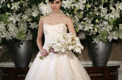 Romona Keveza Bridal Collection Fall/Winter 2013