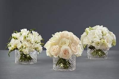 Centros de mesa para bodas by Vera Wang