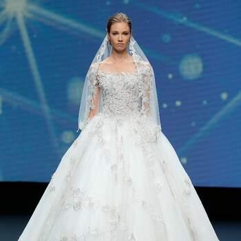 Amelia Casablanca 2021   Valmont Barcelona Bridal Fashion Week