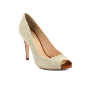 Sapato de noiva branco. Jeba Lin.
