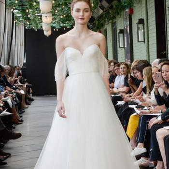 Amsale. Credits: New York Bridal Week