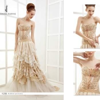 Robe de mariée Veronika Jeanvie - modèle Arabian Princess