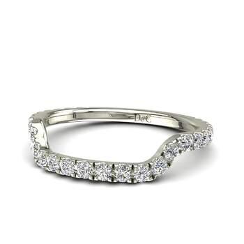 Photo : Diamants et Carats - Modèle :  Lucie  en or blanc