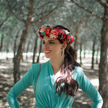 Tocados Mariana | Foto: Crazy Love Shots