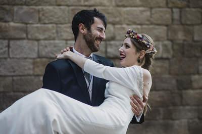Las fotos de boda más divertidas y originales: ¡inspiraos para cuando llegue vuestro momento!