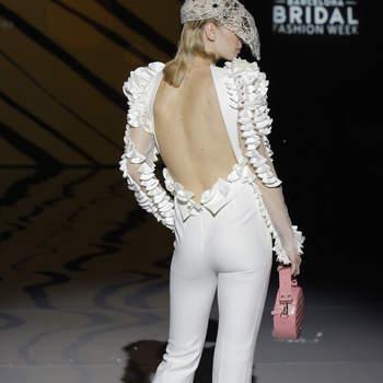 Photo : Isabel Zapardiez. Credits_ Barcelona Bridal Fashion Week