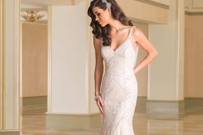 Ontdek de glamour van de Justin Alexander bruidsjurken voor herfst-winter 2016-2017