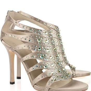 Sandales argentées Gucci. Photo : Net-a-Porter