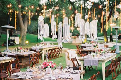 30 идей для оформления свадьбы в стиле бохо шик!