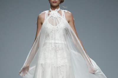 Vestidos de novia Jordi Dalmau 2016: extravagancia y surrealismo