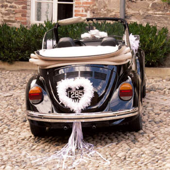 Corazón de plumas blancas - Compra en The Wedding Shop