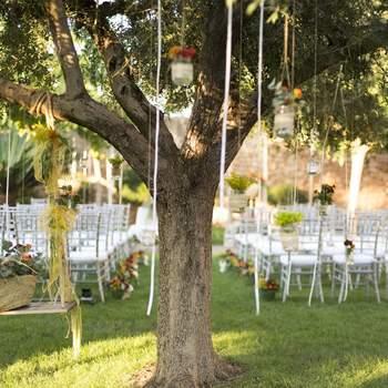 Situada a las afueras de Castellón, esta masía te ofrece preciosos espacios para celebrar tu banquete, desde sus salones acristalados hasta sus mágicos jardines.