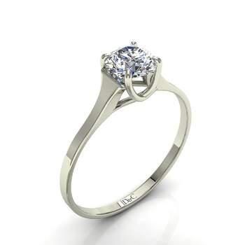Photo : Diamants et Carats - Modèle : Cindy 0.50 carats en or blanc