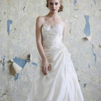 Vestido Ava de Ruche Bridal
