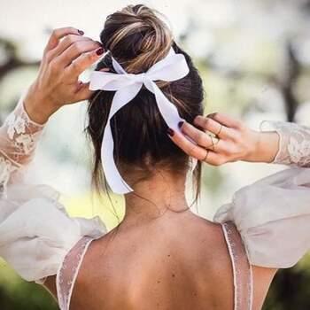Peinado Saray Peña Sojo. Foto: Esif fotografía