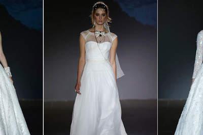 Scegli un abito da sposa con scollo illusione: dalle passerelle di tutto il mondo e dritto al tuo matrimonio