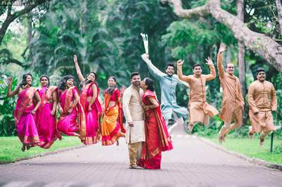 The stunning Real Wedding of Prathibha and Ashwin: The one that shows strong love