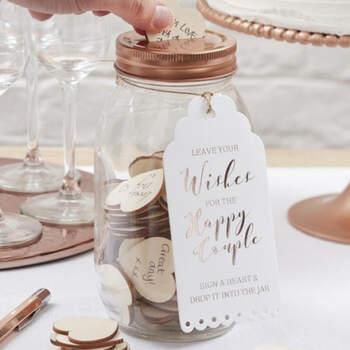Tarrito para mensajes- Compra en The Wedding Shop