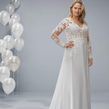 Vestido modelo Oda da White One Plus