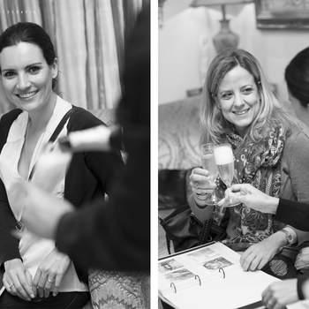Las novias se dejaron asesorar por las profesionales de Belle Day. Foto: Belle Day. http://belleday.com/es/