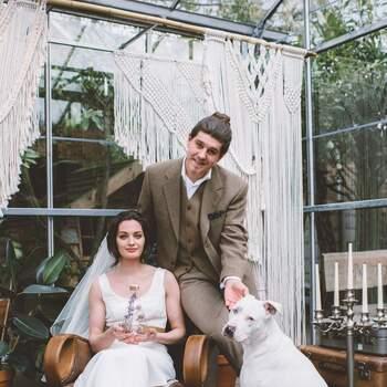 Een bijzondere Styled Wedding Shoot: de Sustainable Wedding   Foto: Eva Dekkers Photography